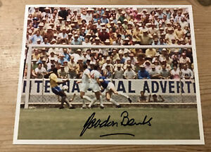 Gordon Banks Signed Photo, That Save, with COA