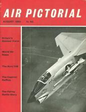 AIR PICTORIAL 8/60 RAF V-FORCE VICTOR VALIANT VULCAN_Bf109 STORY Pt5_FAIREY BATT
