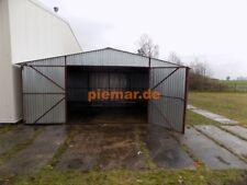 Blechgarage Garage Blechgaragen  Reifen Lager Schuppe Stahlhalle 6x6 Neu