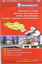 Mapa National Mapa National Eslovenia, Croacia, Bosnia y Herzegovina, Serbia, Mo