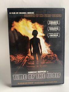 TIME OF THE WOLF rare OOP US Kino DVD cult Michael Haneke arthouse shocker