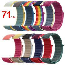 Nylon Sports Band Strap for Apple Watch 38/42mm 40/44mm Series 4 3 2 1