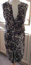 H&M Dress- Animal Print - Size Small