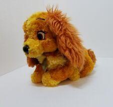 "Authentic Disney Resort Lady & The Tramp Plush 14"" Lady Stuffed Animal Toy"