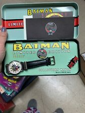 Batman #1 Fossil Watch LIMITED EDITION  New In Box 1994
