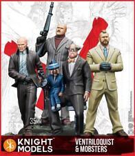 Batman/DC Universe Miniature Ventriloquist & Mobsters NIB