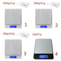 0.1-3000g Jewellery Kitchen Food Scale Digital LCD Electronic Balance Scales