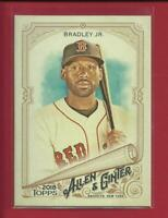 Jackie Bradley Jr  2018 Topps Allen and Ginter Card # 254  Boston Red Sox MLB