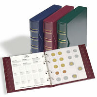 Red Ringbinder Collection Album GRANDE Leuchtturm 300787 Currency Collection