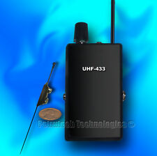 SET UHF RECEIVER  VER1+ THE MOST POWERFUL BUG SPY EXTERNAL MICROPHONE !!!