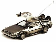 Modellini statici di auto, furgoni e camion grigio per DeLorean Coupe