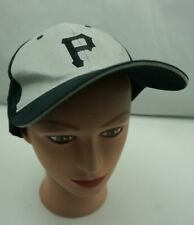 Pittsburgh Pirates Hat Black Stitched Fitted OSFA Baseball Cap Pre-Owned ST230