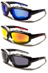 Choppers Padded Sunglasses Riding Biker Motorbike Motorcycle 6 Styles UV400