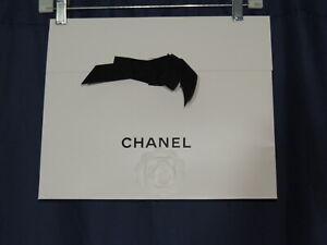 Chanel Folding Gift Bag / Envelope  w   Camellia Flower / Ribbon