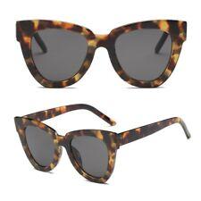 Women Lady Retro Cat Eye Sunglasses Designer Square Frame Eyeglass Shades