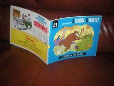 SYLVAIN ET SYLVETTE SERIE 3 N°21 L'OURS A UN PLAN - EDITION ORIGINALE 1984