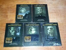 Mummy/Dracula/Frankenstein/Wolfman/InvisibleMan Legacy Collection (DVD, 2004)New