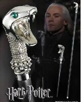 HARRY POTTER RARE DEATHEATER LUCIUS MALFOY WALKING STICK CANE SNAKE SERPENT WAND