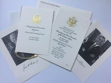 2013 President Barack Obama Inauguration Congressional Invitation Package Biden