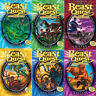 Beast Quest Series 2 Adam Blade Collection (7-12) Claw 6 Books Box Set Arachnid