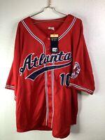 Atlanta Braves All Star Collection 2XL FUNCTION&FUTURE jersey Vintage Baseball