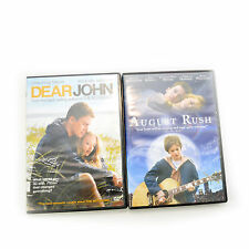 Dear John and August Rush 2 DVD Lot Drama Set Excellent Condition Disc