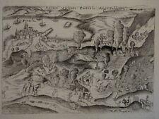 Forum Vulcani Puteolis - Kupferstich - Italien Solfatara di Pozzuoli Vulkan 1713