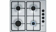 Neff T26BR46N0 Built in 58cm 4 Burners Gas Hob Stainless Steel