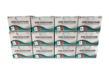 1200 BD ALCOHOL SWABS THICKER SOFTER CASE OF 12 DIABETIC CARE NEW