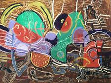 TreS Belle Peinture Nature Morte 1970 Huile Sur Panneau Signé Jean Pol Soudan
