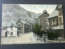 More details for coniston & yewdale fells - nice brittain & wright coloured postcard!