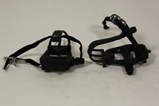 Fuji - VP Pedals with Toe Clips and Straps 9/16 threads PD 1
