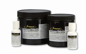 Jacquard Photo Emulsion with Diazo Sensitizer Silk Screen Printing - 8oz / 16oz