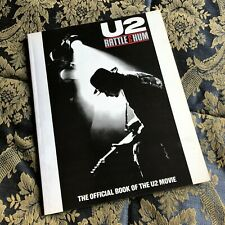 U2 RATTLE AND HUM The Official book of the U2 Movie 96 pages Uk edition RARO