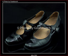 Kumfs Patent Black Leather Court Size 37 Shoe Orthotic Comfort