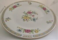 "Liling Fine China Yung Shen LING ROSE Dinner Plate(s), 4 10 1/2"" plates."