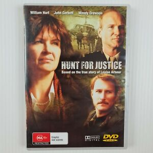 Hunt for Justice DVD - William Hurt, John Corbett, Wendy Crewson -TRACKED POST