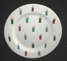 Carol DeForest Ceramics Studio HAPPY BIRTHDAY To YOU plate Candles Signed 1993