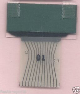 MERCEDES W202 W208 W210 R170 LEFT LCD WITH RIBBON CABLE