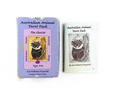 Australian Animal Tarot Deck. - Rare HTF OOP