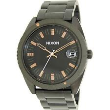 Nixon Stainless Steel Band Analogue Casual Wristwatches