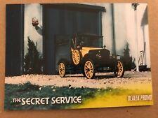 THE SECRET SERVICE: DEALER PROMO CARD: GGP1 - LESS THAN 25 MADE!!