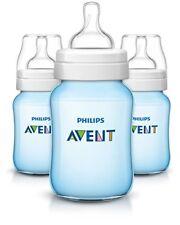 Philips Avent Anticolico Biberones Azul 9oz 3 Piezas Nuevo