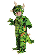 Underwraps Toddler Costume Size L 2T-4T Dragon Triceratops Dinosaur Light Plush