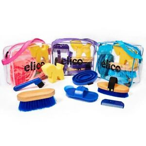 Elico Chepstow Grooming kit with full size brushes *FREE DELIVERY*