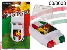 Stickers Maquillage pour Fan Crayons Drapeau Italien 6 cm Supporteur Football