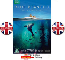 Blue Planet II 2 DVD Latest New BBC Series David Attenborough Region 2 New Boxed
