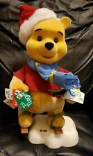 Disney 16� Telco Animated Winnie the Pooh Christmas Figure in Original Box