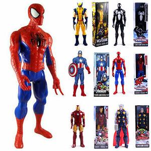 30cm Marvel The Avengers Superheld Spiderman Action Figur Figuren Iron Man Thor.