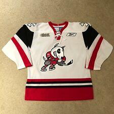 Niagara Ice Dogs Reebok Hockey Jersey OHL CHL Medium White Rare